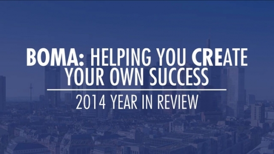 BOMA: HELPING YOU CREATE YOUR OWN SUCCESS