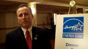 Dick Purtell at Energy Star Awards
